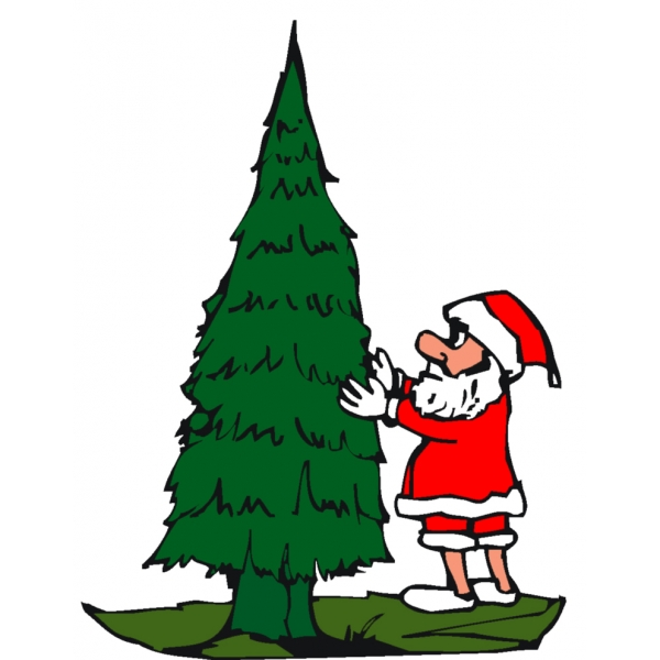 Disegno di addobbare l 39 albero di natale a colori per - Albero di natale stampabili gratis ...