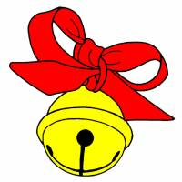 Disegno di Campanellino di Natale a colori