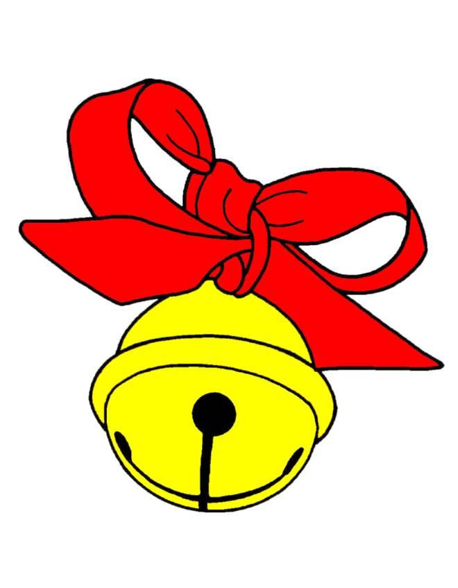 Disegno di campanellino di natale a colori per bambini - Immagini a colori di natale gratis ...