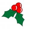 Disegno di Decori di Natale a colori