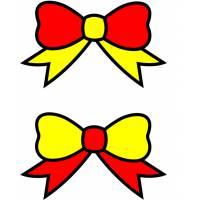 Disegno di Fiocchi di Natale a colori