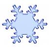 Disegno di Neve a colori