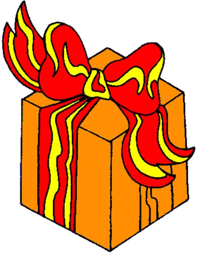 Disegno di pacco regalo a colori per bambini - Immagini a colori di natale gratis ...