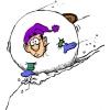 disegno di Palla di Neve a colori