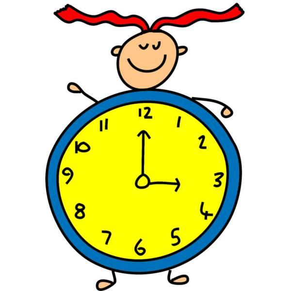 Disegno Di Orologio A Colori Per Bambini Disegnidacolorareonlinecom