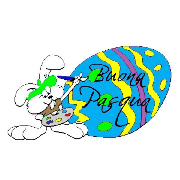 Disegno di Uovo Buona Pasqua a colori