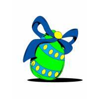 Disegno di Uovo di Pasqua a colori