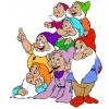 Disegno di I Sette Nani a colori