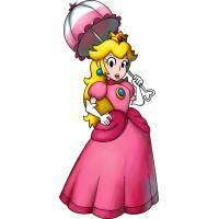 disegno di La Principessa Peach a colori