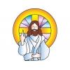 disegno di Gesù Cristo a colori