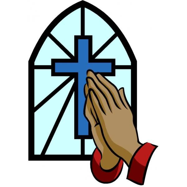 Disegno di Preghiera a colori