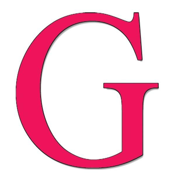 Disegno di Lettera G a colori