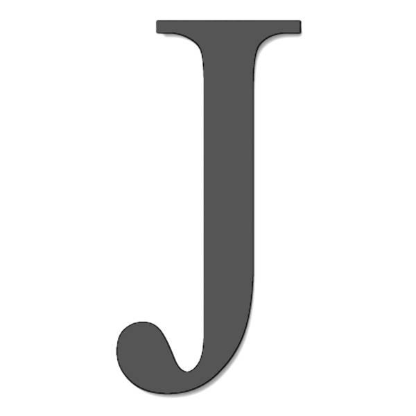 Disegno di Lettera J a colori