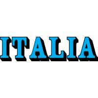 Disegno di Scritta Italia a colori