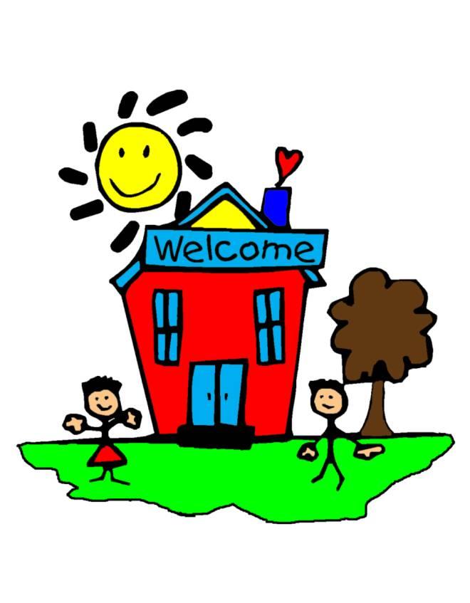 Disegno di benvenuti a scuola a colori per bambini - Scuola per piastrellisti ...