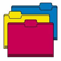 disegno di Cartelline a colori