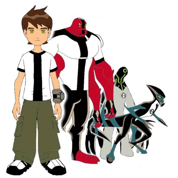 Disegno di ben 10 cartoon a colori per bambini for Ben ten disegni da colorare per bambini