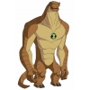 Disegno di Humangosaur Ben Ten a colori