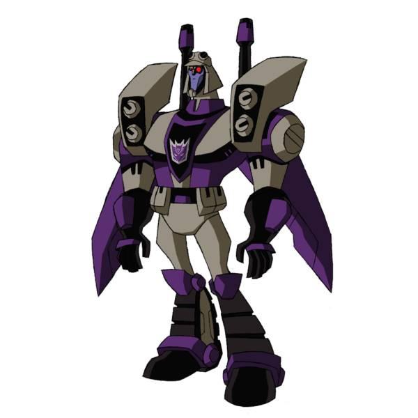 Disegno di Blitzwing Transformers a colori