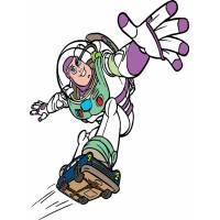 Disegno di Buzz Toy Story a colori