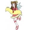 Disegno di Angel Friends a colori