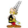 Disegno di Asterix a colori