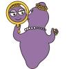 Disegno di Barbabella allo Specchio a colori