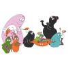 Disegno di Barbapapà con Animali a colori