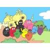 Disegno di Barbapapà a colori
