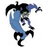 Disegno di Benwolf Ben Ten a colori