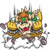 Disegno di Bowser Super Mario a colori