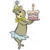 Disegno di Cindy Buon Compleanno a colori