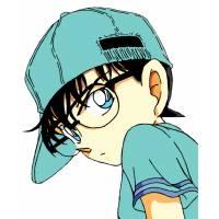 Disegno di Detective Conan a colori