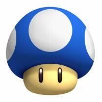 Disegno di Funghetto di Super Mario Bros a colori