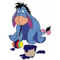 Disegno di Hi Ho Winnie the Pooh a colori