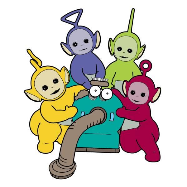 Disegno di i teletubbies a colori per bambini