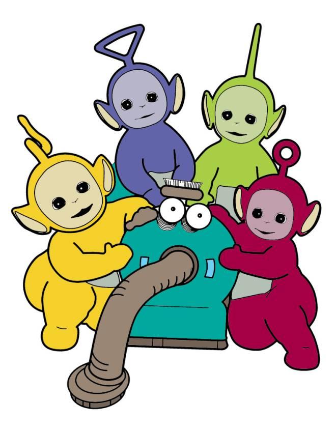 Disegno di i teletubbies a colori per bambini for Disegni di cartoni animati