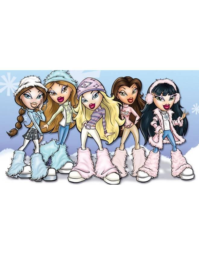 disegno di Le Bambole Bratz a colori