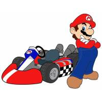 disegno di Mario Kart a colori