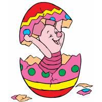 Disegno di Pimpi Uovo di Pasqua a colori
