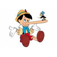 Disegno di Pinocchio Bugiardo a colori