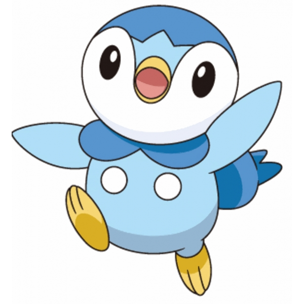 Disegno di piplup pokemon a colori per bambini