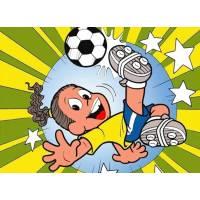 Disegno di Ronaldinho a colori