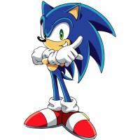 Disegno di Sonic a colori