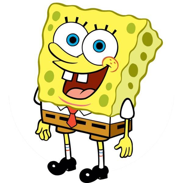Disegno di spongebob a colori per bambini