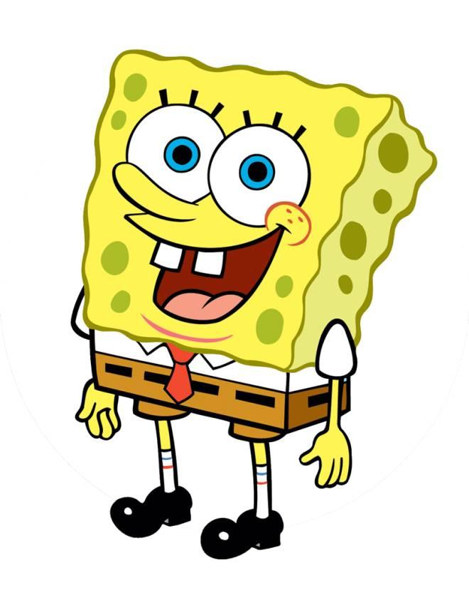 Disegno di spongebob a colori per bambini for Disegni spongebob