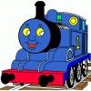 Disegno di Trenino Thomas a colori