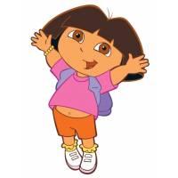 Disegno di Dora l'Esploratrice a colori