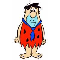 Disegno di Fred dei Flintstones a colori