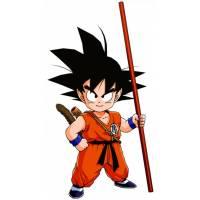 Disegno di Goku Dragon Ball a colori